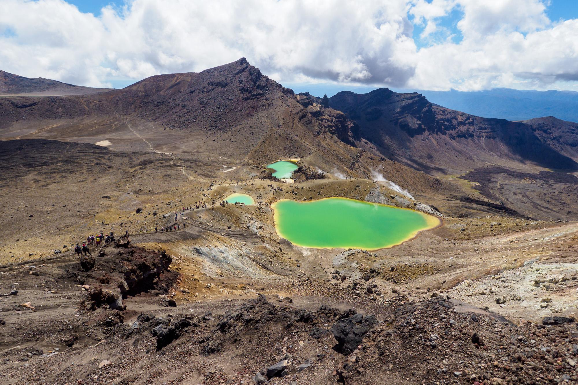 Tongariro - Emerald Lakes