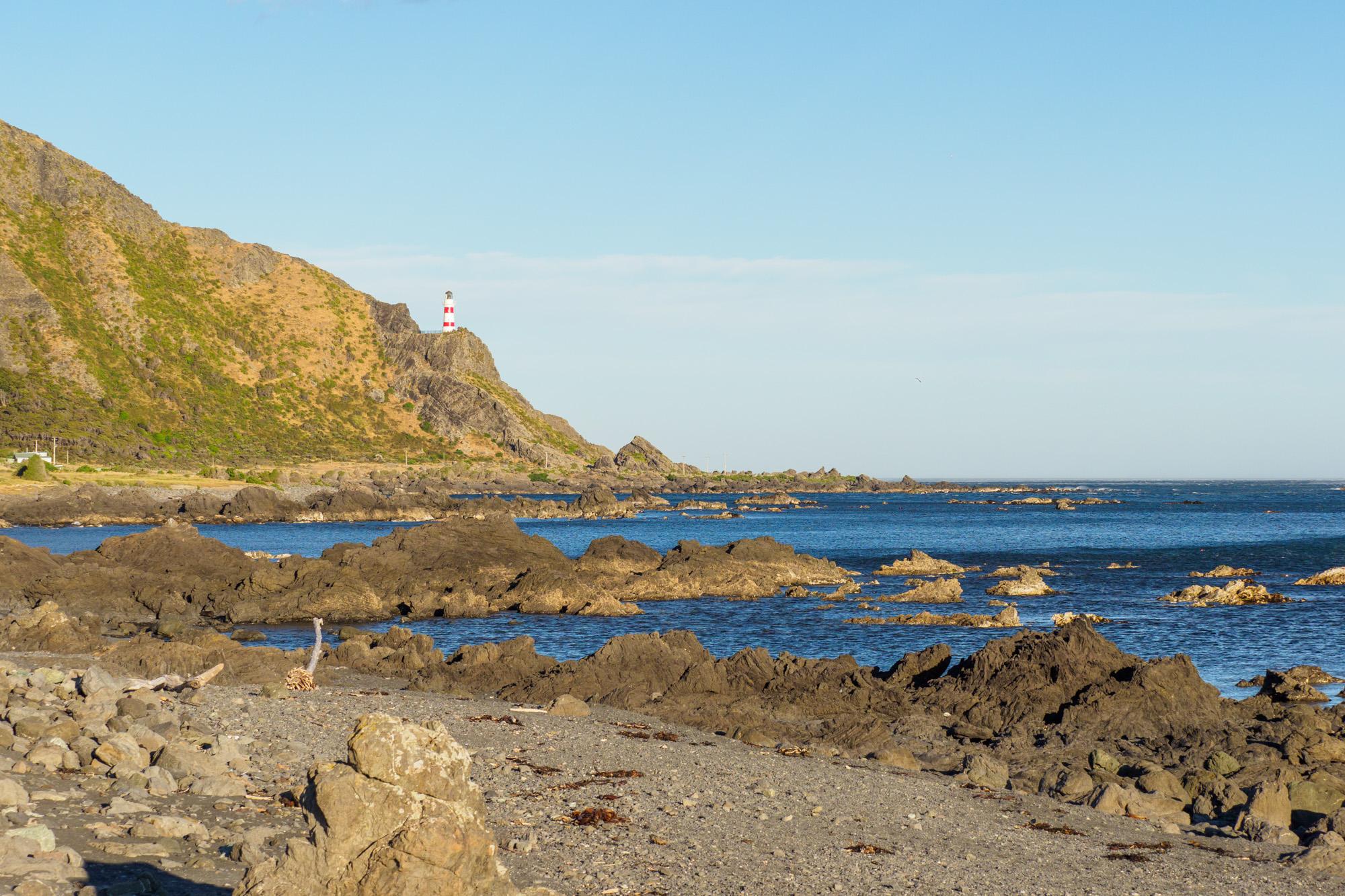 Cape Palliser - Cape Palliser Leuchtturm
