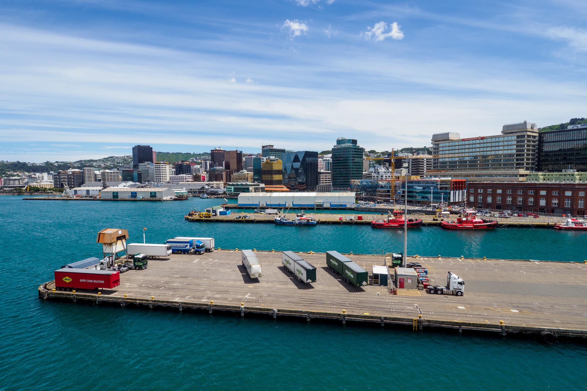 Wellington - Skyline von Wellington