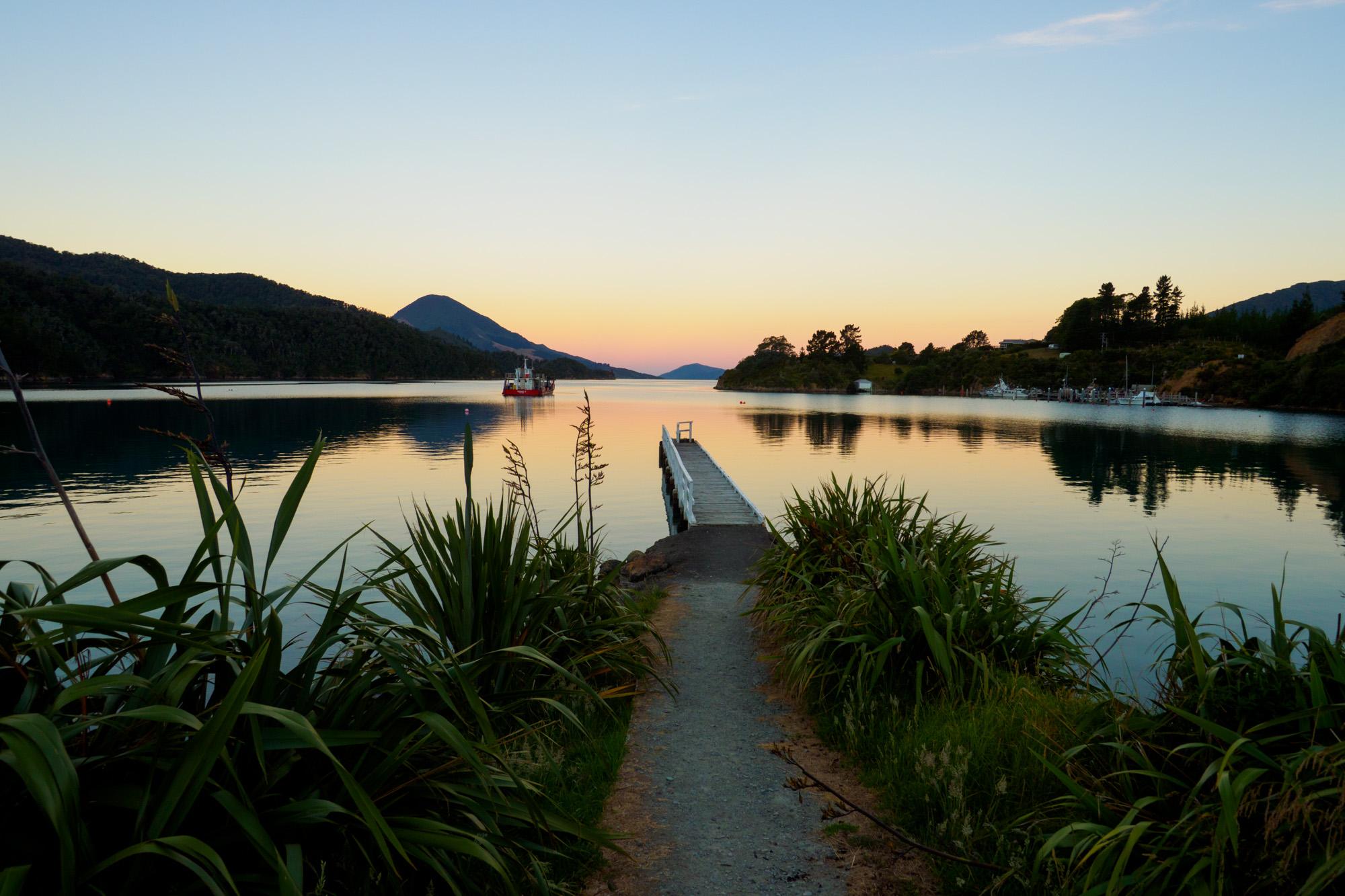 Marlborough Sounds - Elaine Bay