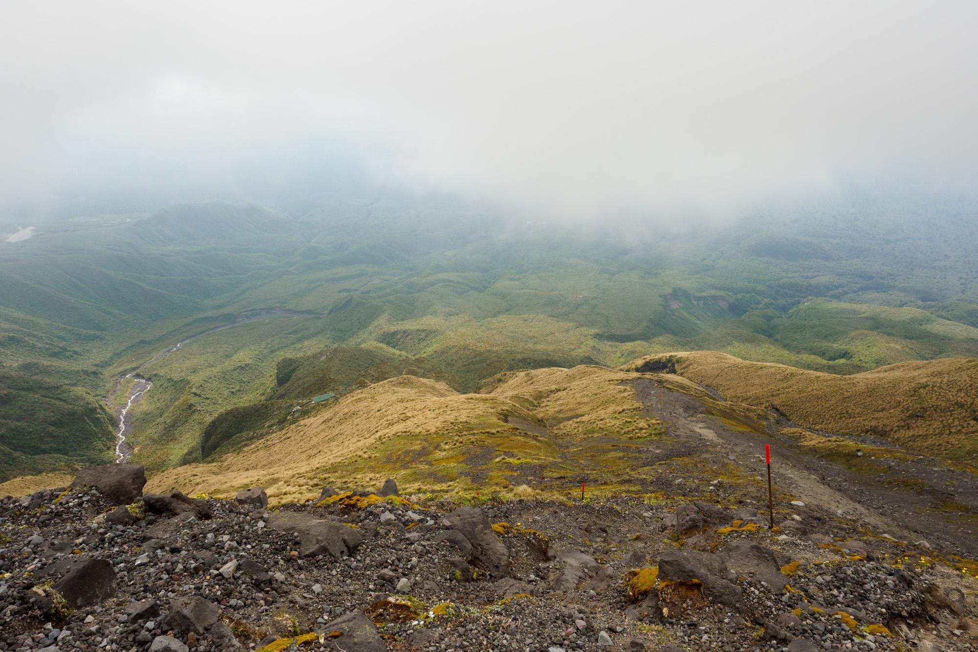 Mt Taranaki - Aufstieg zur Syme Hut