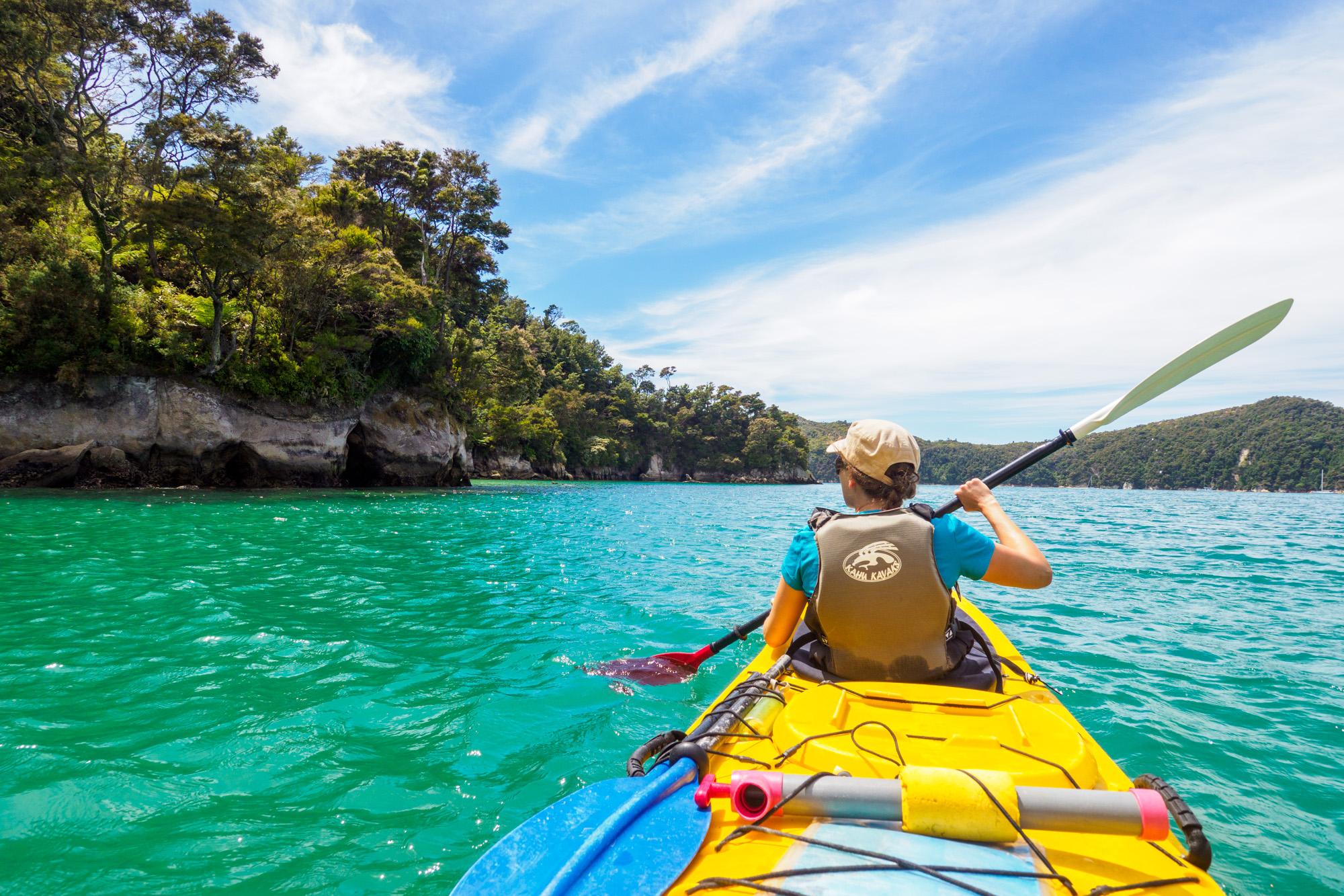 Abel Tasman Nationalpark - An der Küste