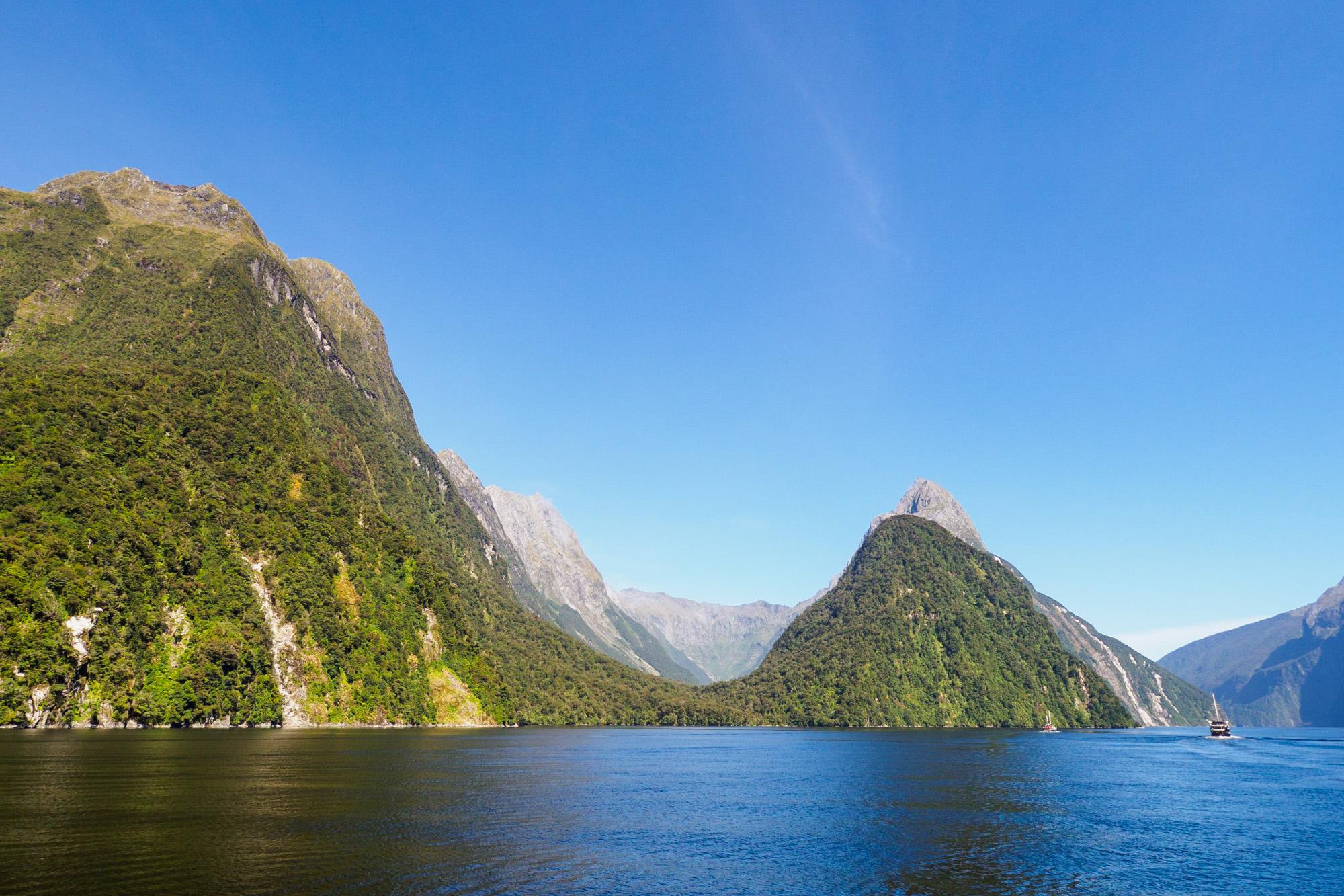 Milford Sound - Sinbad Gully