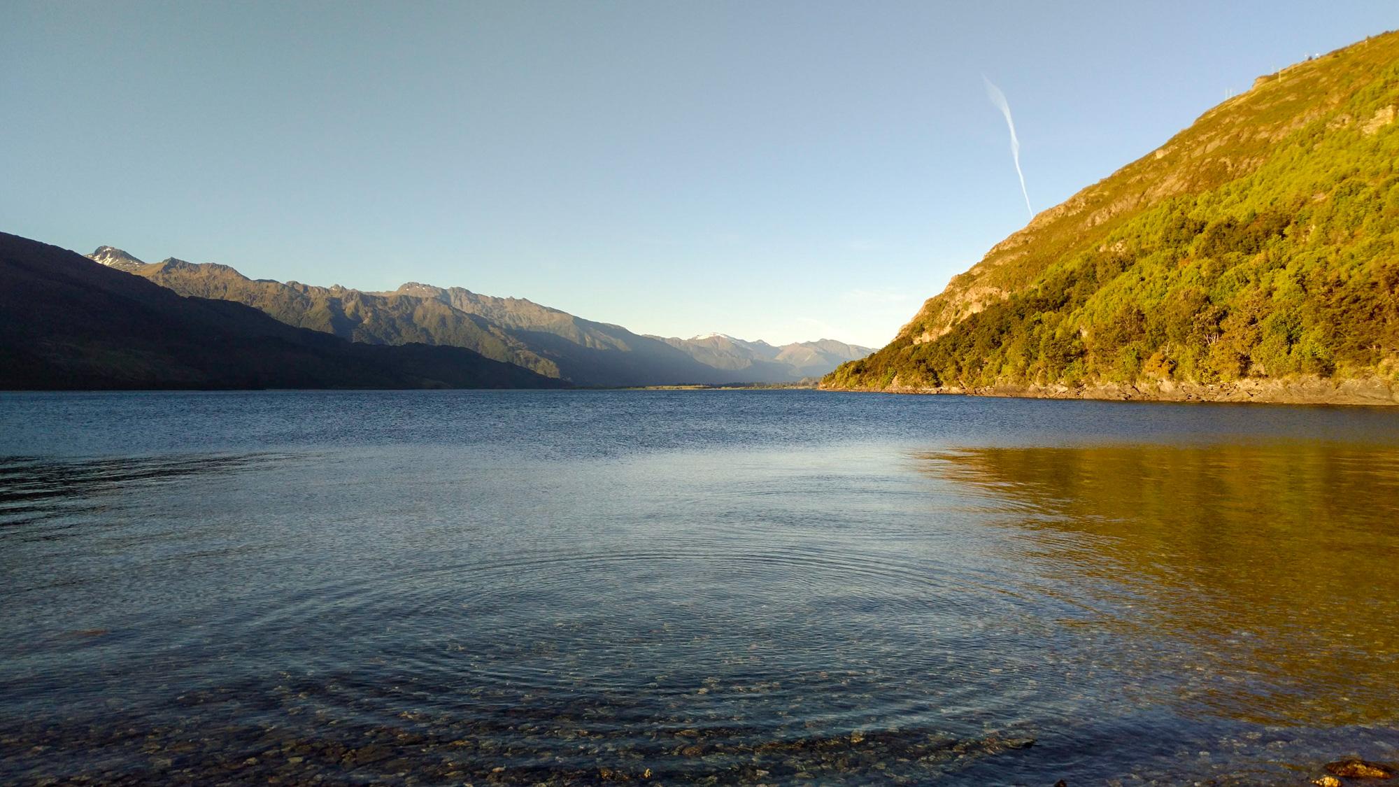 Wanaka - Abendstimmung am Lake Wanaka