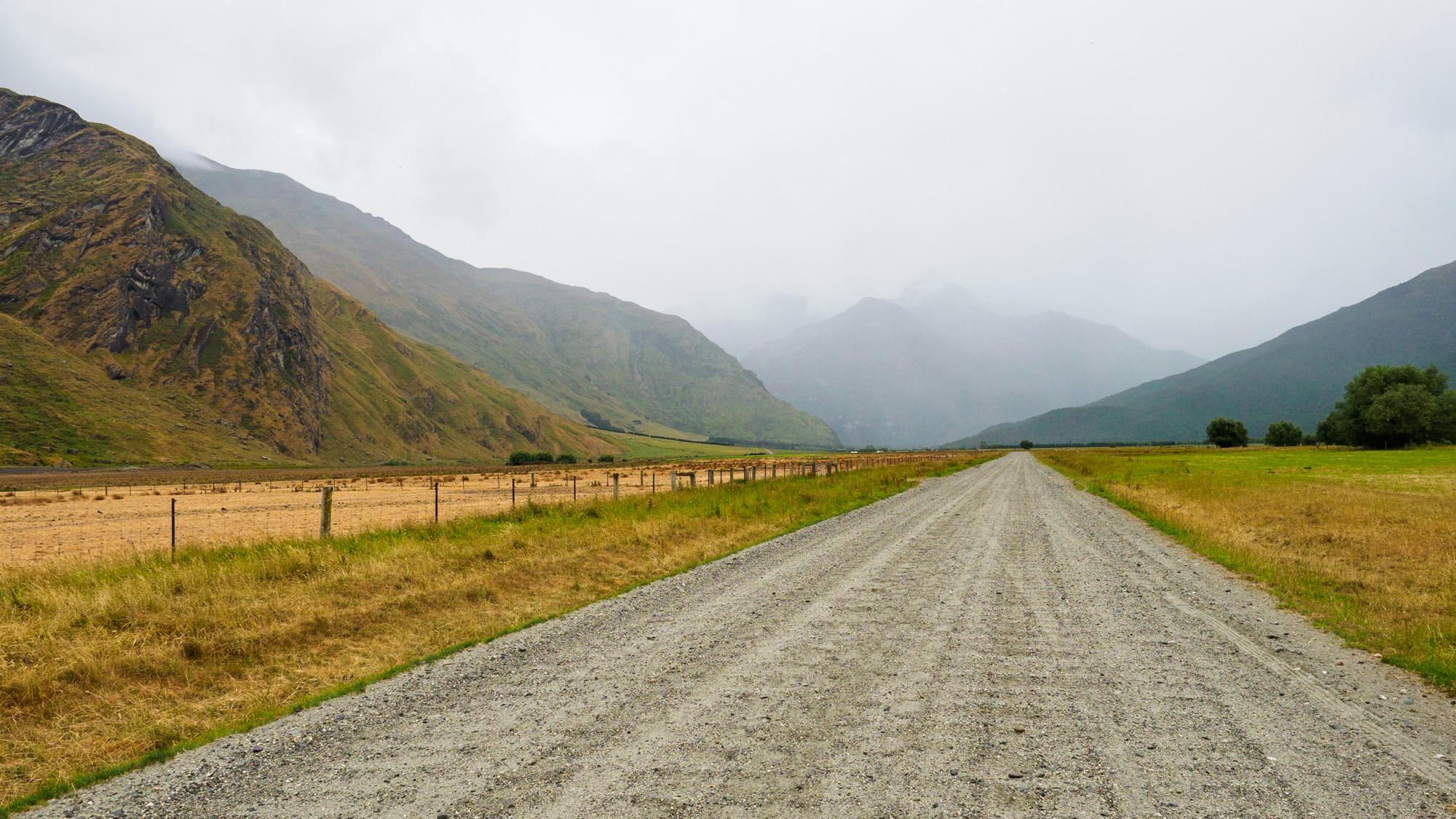 Wanaka - Auf dem Weg in den Mt Aspiring Nationalpark