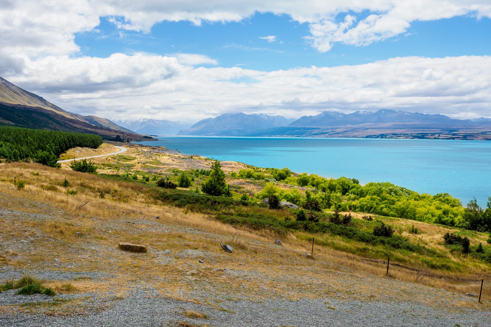 Aoraki Mt Cook Nationalpark - Lake Pukaki