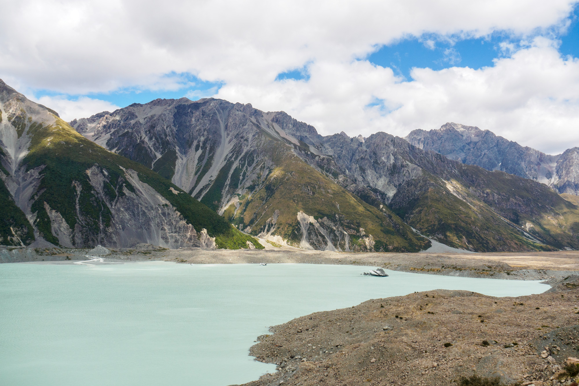 Aoraki Mt Cook Nationalpark - Tasman Lake