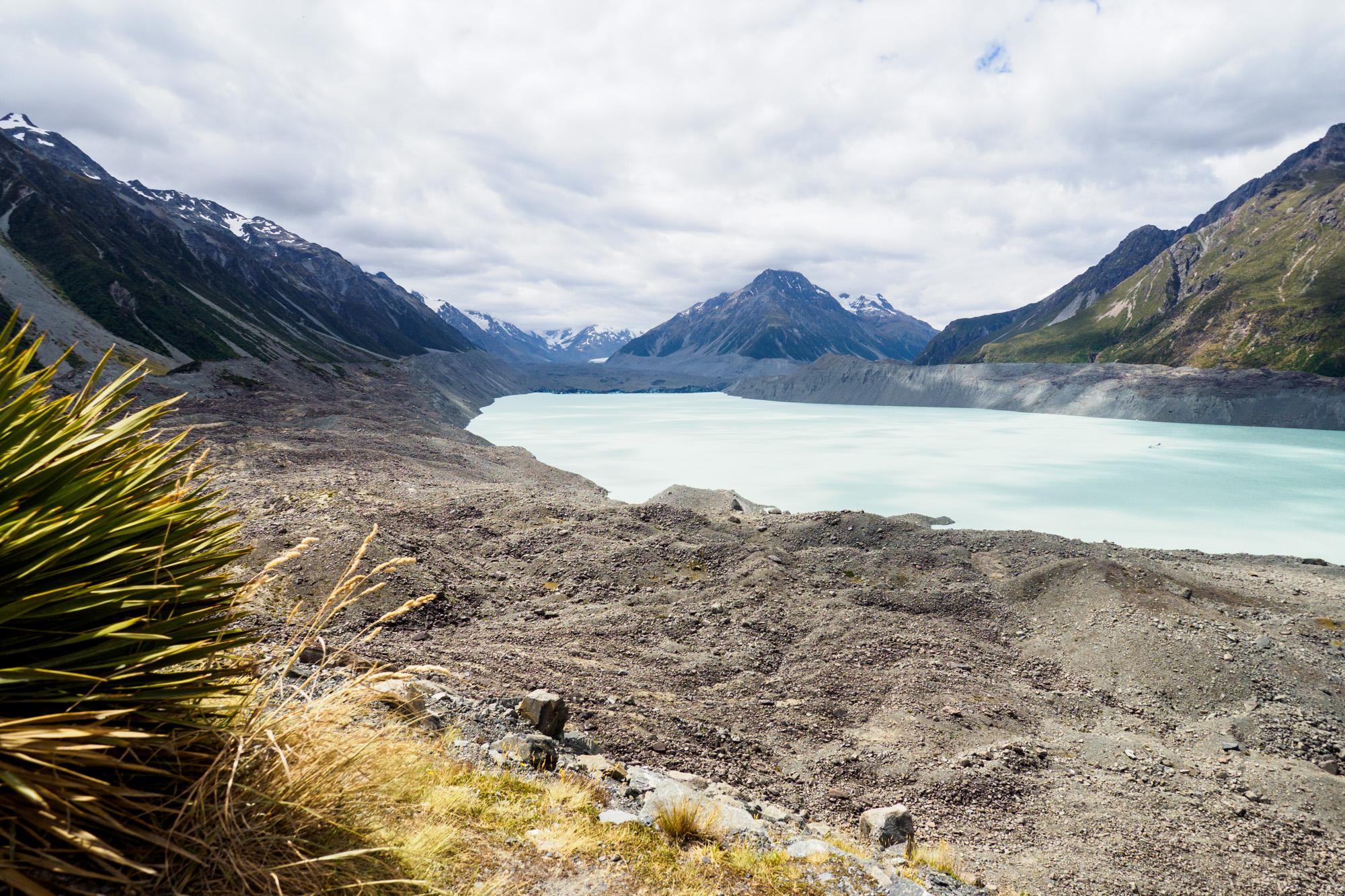 Aoraki Mt Cook Nationalpark - Tasman Lake und Tasman Glacier