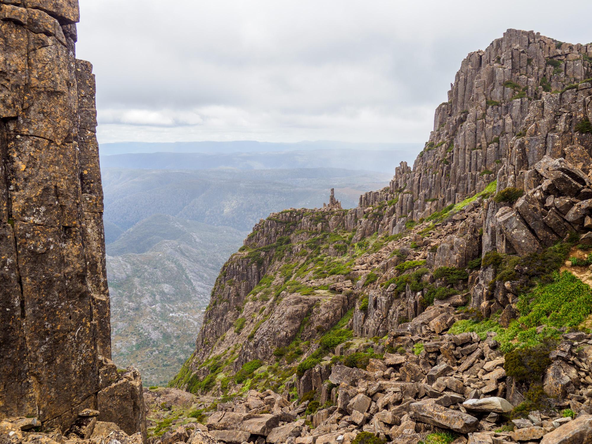 Cradle Mountain Nationalpark- Aufstieg auf den Cradle Mountain