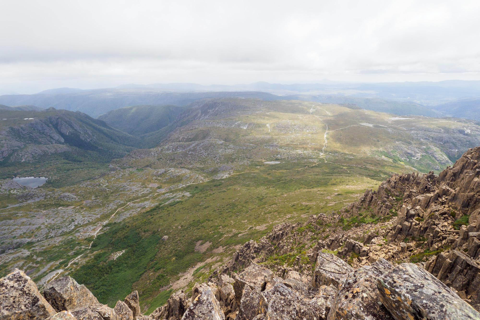 Cradle Mountain Nationalpark- Aussicht vom Cradle Mountain