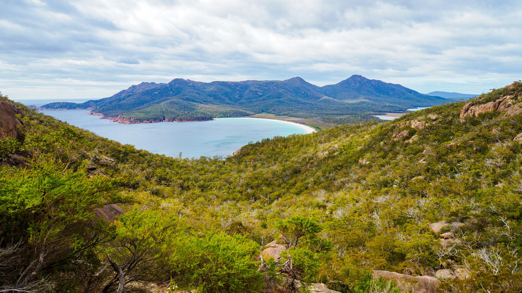 Freycinet Nationalpark - Wineglas Bay Lookout