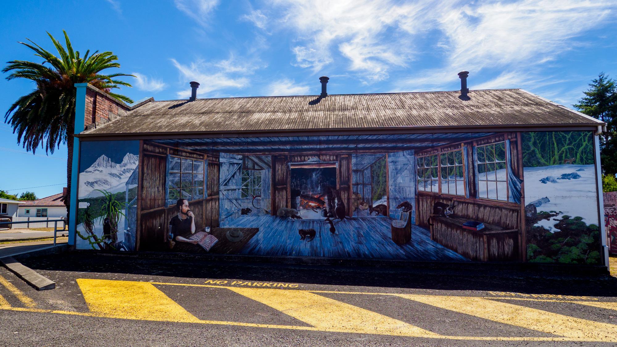 Great Western Tiers - Das erste Mural in Sheffield erzählt die Geschichte von Gustav Weindorfer
