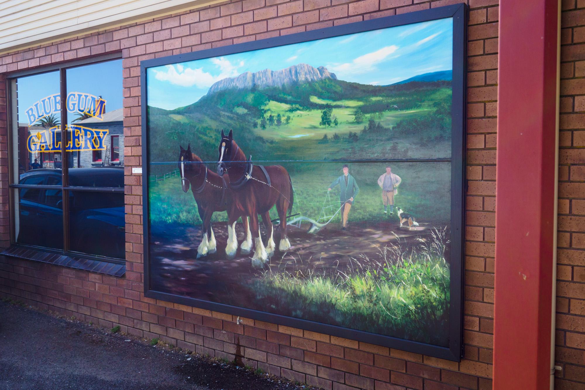 Great Western Tiers - Mural in Sheffield
