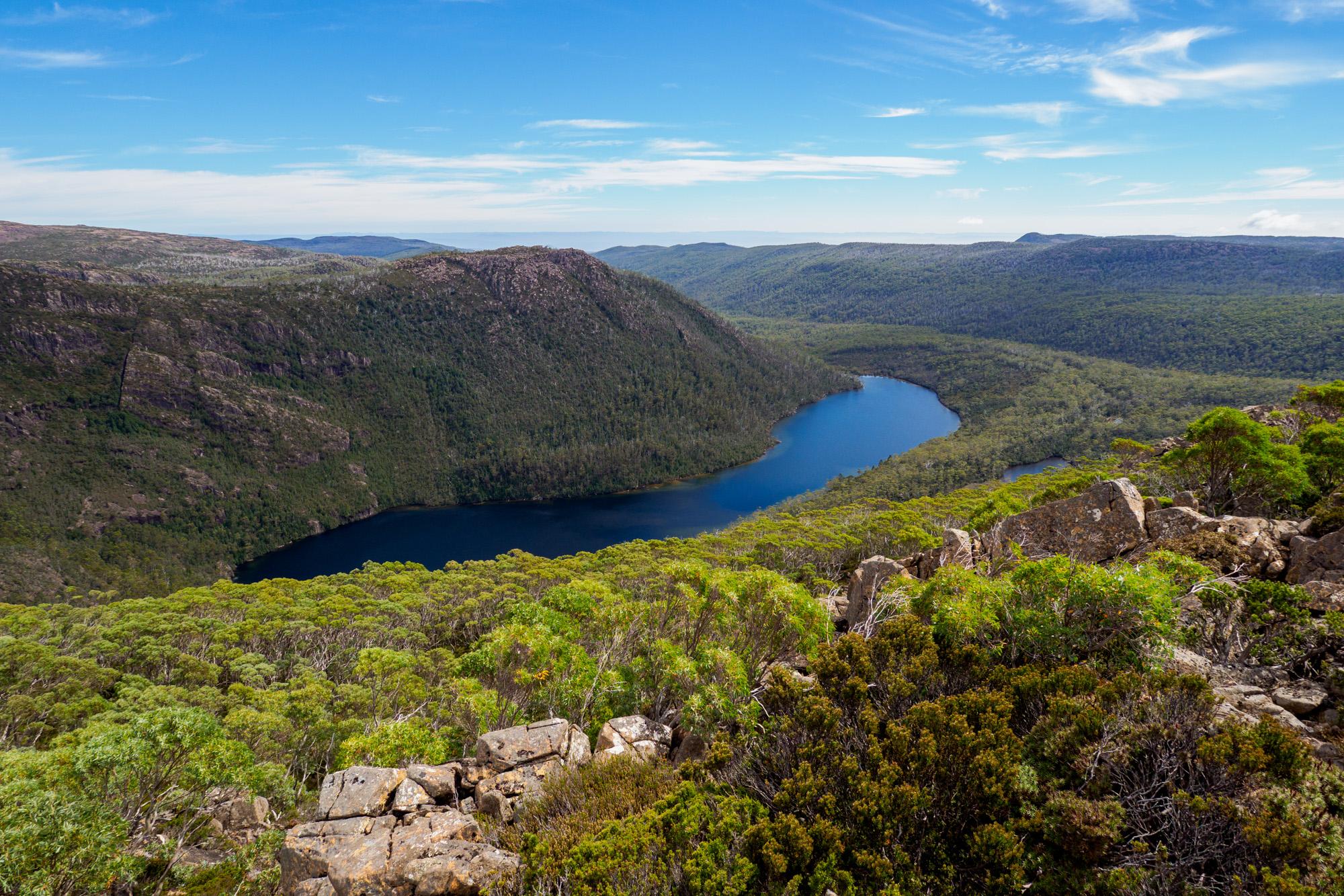 Mt Field Nationalpark - Seal Lake