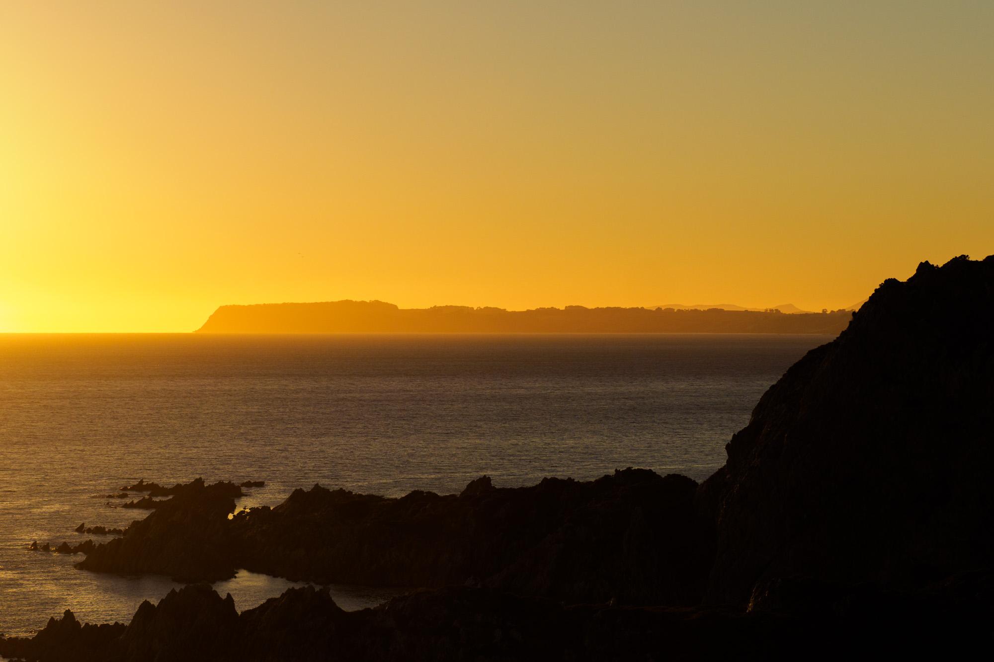 Nordküste - Sonnenaufgang beim Rocky Cape Lighthouse