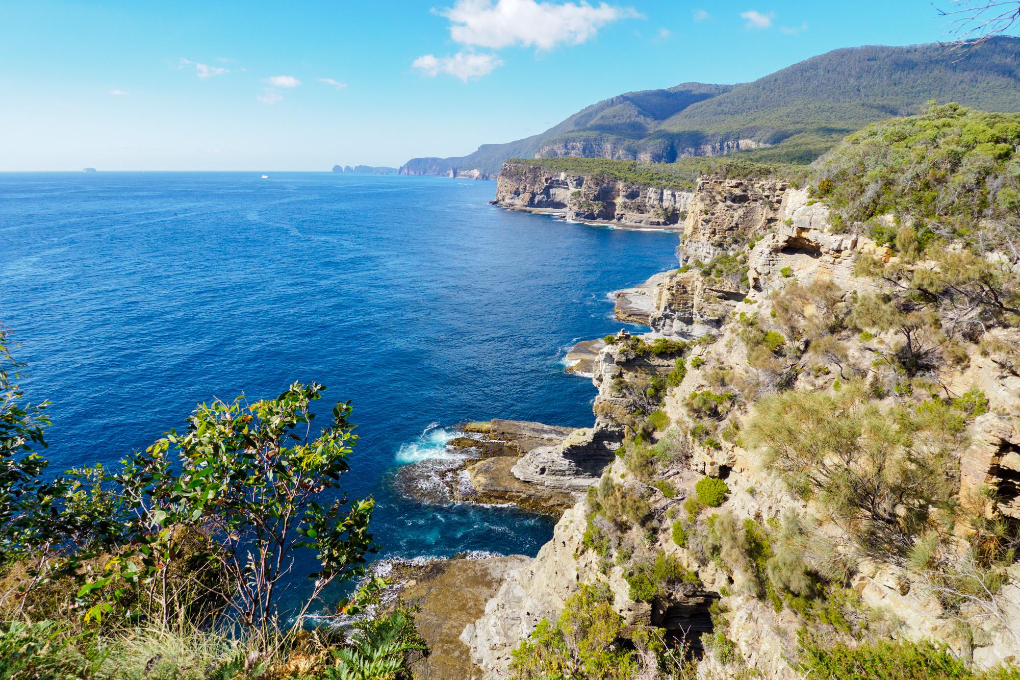 Tasman Peninsula - Auf dem Weg Richtung Waterfall Bay